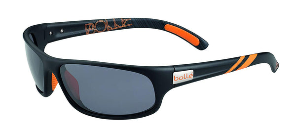 Bolle Anaconda Sunglasses Matt Black/Orange, Smoke