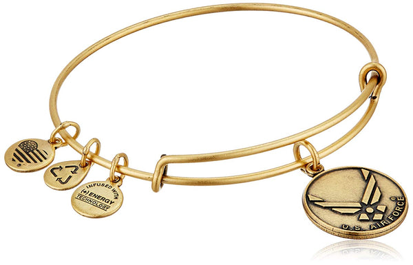 Alex and Ani Armed Forces US Air Force Expandable Bangle Bracelet