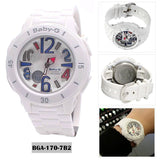 Casio Baby-G BGA-170-7B2DR White Blue
