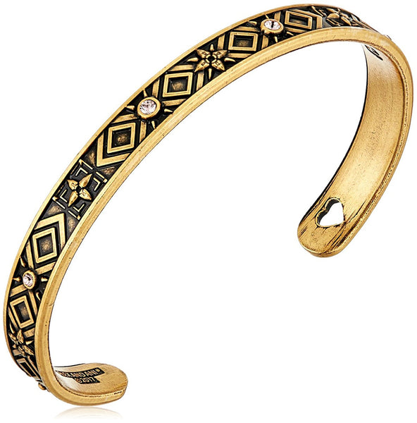 Alex and Ani Healing Love Cuff Rafaelian Gold Bangle Bracelet