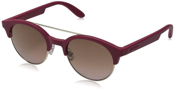 Carrera CA5035S Round Sunglasses, Cherry Gold/Brown Pink Gradient, 50 mm