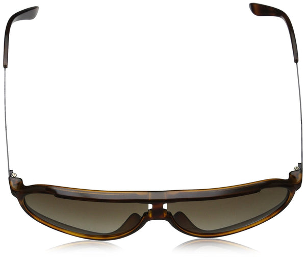 Carrera New Champion Aviator Sunglasses, Havana Black & Brown Gradient, 62 mm