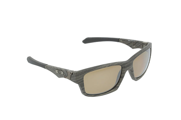 Oakley Men's Jupiter Polarized Square Sunglasses,Woodgrain Frame/Tungsten Iridium Lens,One Size