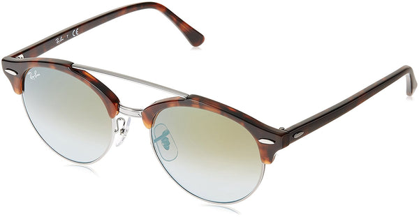 Ray-Ban Clubround Double Bridge Sunglasses (RB4346) Plastic