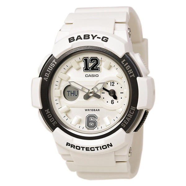 G-Shock Women's BGA-210-7B1CR White Watch