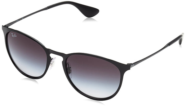Ray-Ban METAL UNISEX SUNGLASS - BLACK Frame GRAY GRADIENT Lenses 54mm Non-Polarized