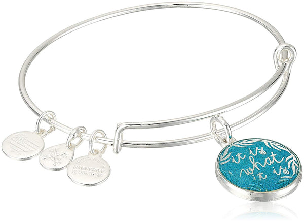 Alex and Ani Womens Words are Powerful - It is What It is II Bangle