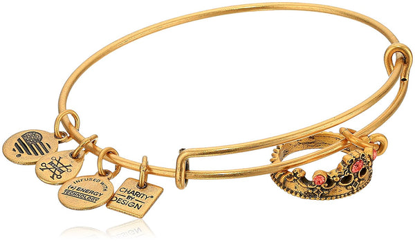 Alex and Ani Womens Charity by Design Queen's Crown Bangle