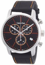 Calvin Klein K2G271C1 Mens City Black Chronograph Watch