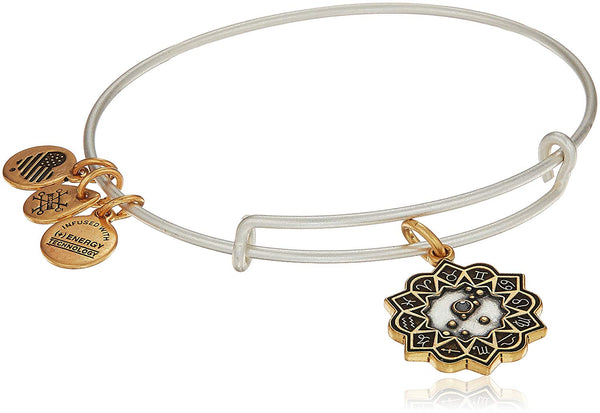 Alex and Ani Women's Taurus Two Tone Bangle Bracelet