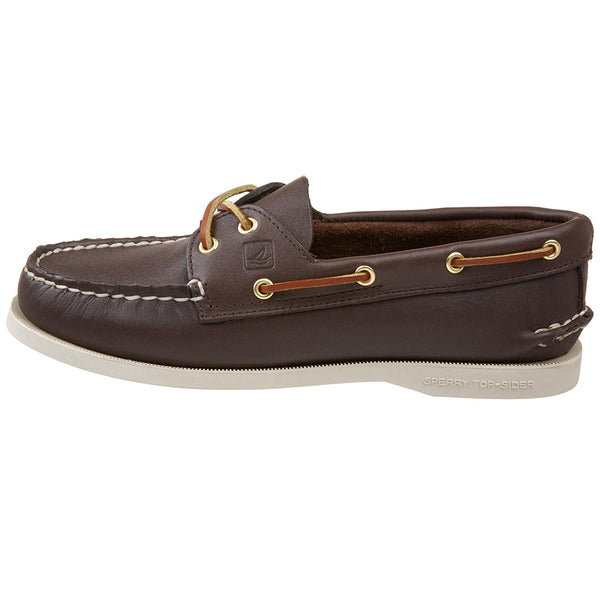 Sperry Top-Sider Women's Authentic Original 2-Eye Boat Shoe,Brown,9.5 M US