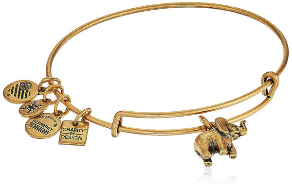Alex and Ani charity by design, elephant ii bangle bracelet