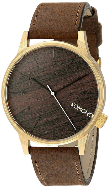 Komono - Winston Watch - Gold Wood