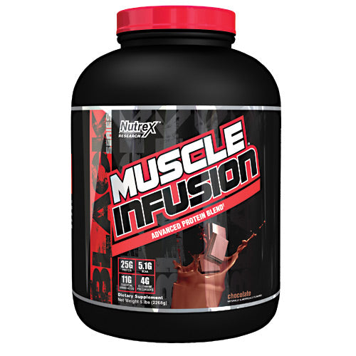 Nutrex Research Muscle Infusion - Chocolate - 5 lb - 857268005656