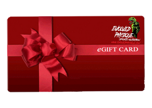 Evolved Physique Sports Nutrition Gift Card