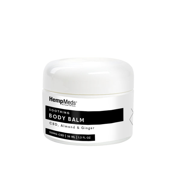 HempMeds 1.3oz Soothing Body Balm (50MG CBD)