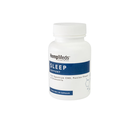 HempMeds Sleep Support CBD Capsules (15MG CBD) 30 Count