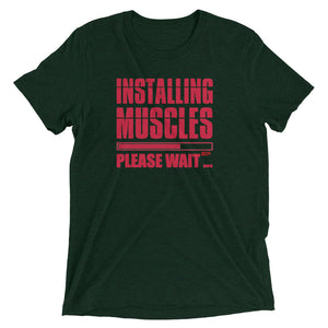 Unisex Installing Muscles EP Soft T-Shirt