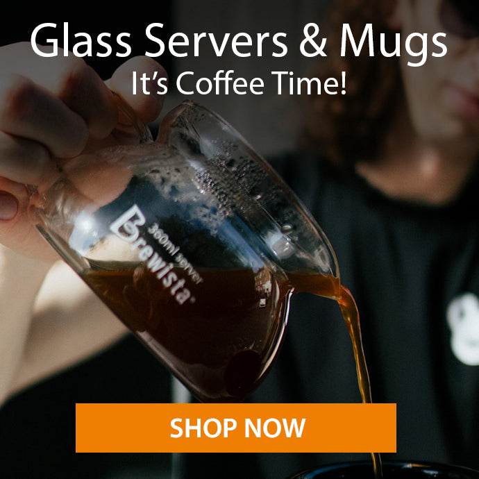 Brewista glass servers mugs