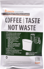 Smart Brew™ PLA Cold Pro Jr.™ Gusseted Filter Pack of 25 Filters - Brewista