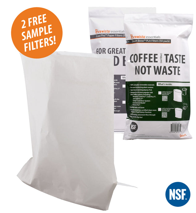 Cold Pro™ Paper Filters - FREE Sample Pack! (Choose from 3 styles) - Brewista