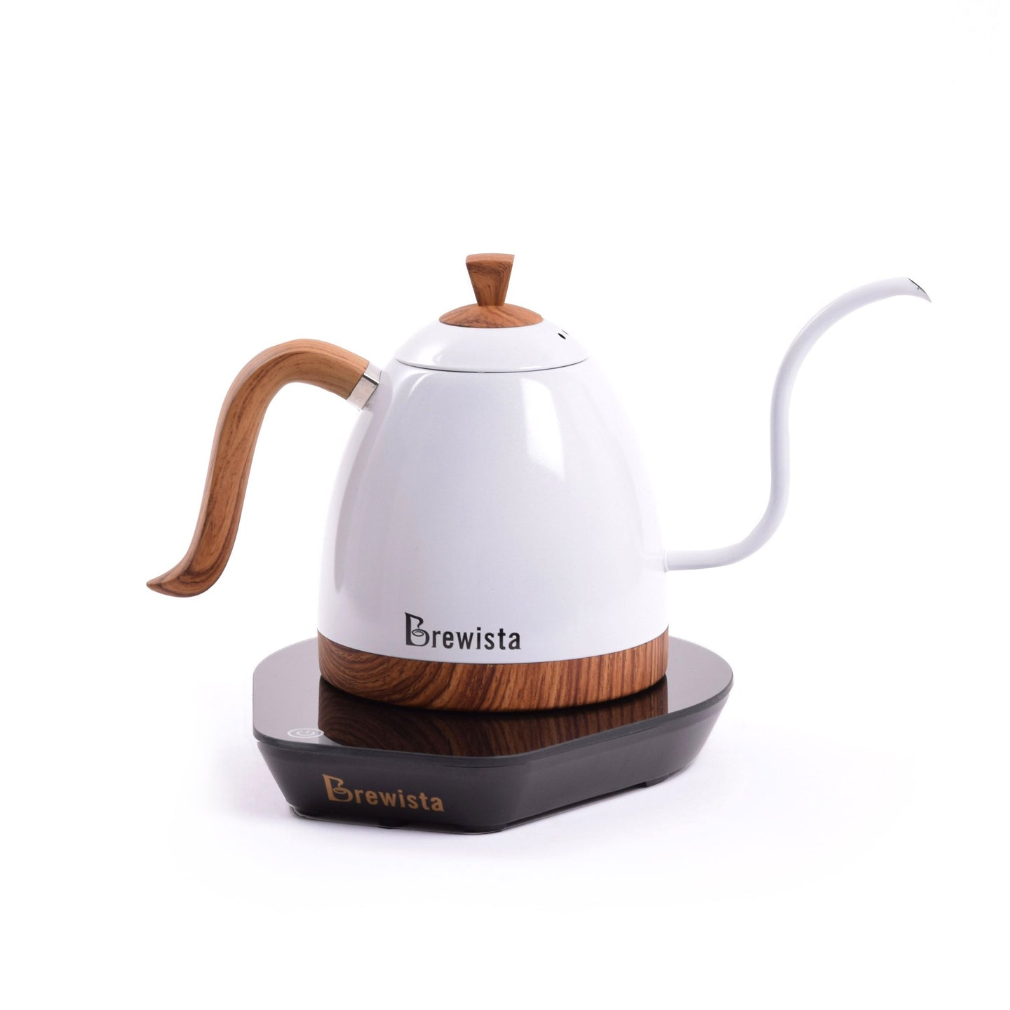 Brewista Artisan 600mL Gooseneck Variable Temperature Kettle - Pearl White - Brewista