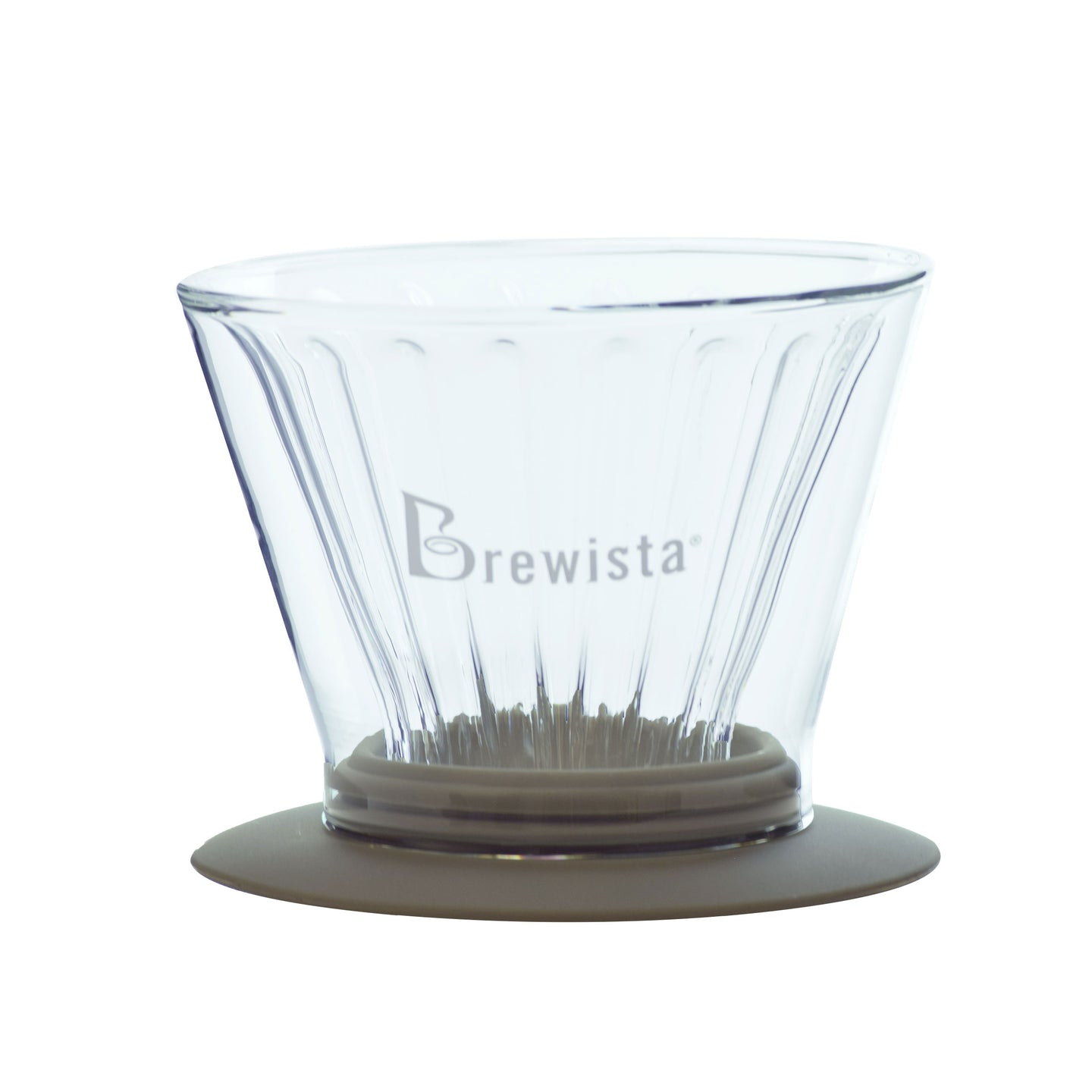 Smart Dripper™ Flat V Cone Glass Dripper