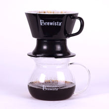 Smart Brew™ Porcelain Flat Bottom Immersion Dripper - Brewista