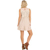 Lovely in Lace! Gauze Dress with Lace Bodice/ Ivory