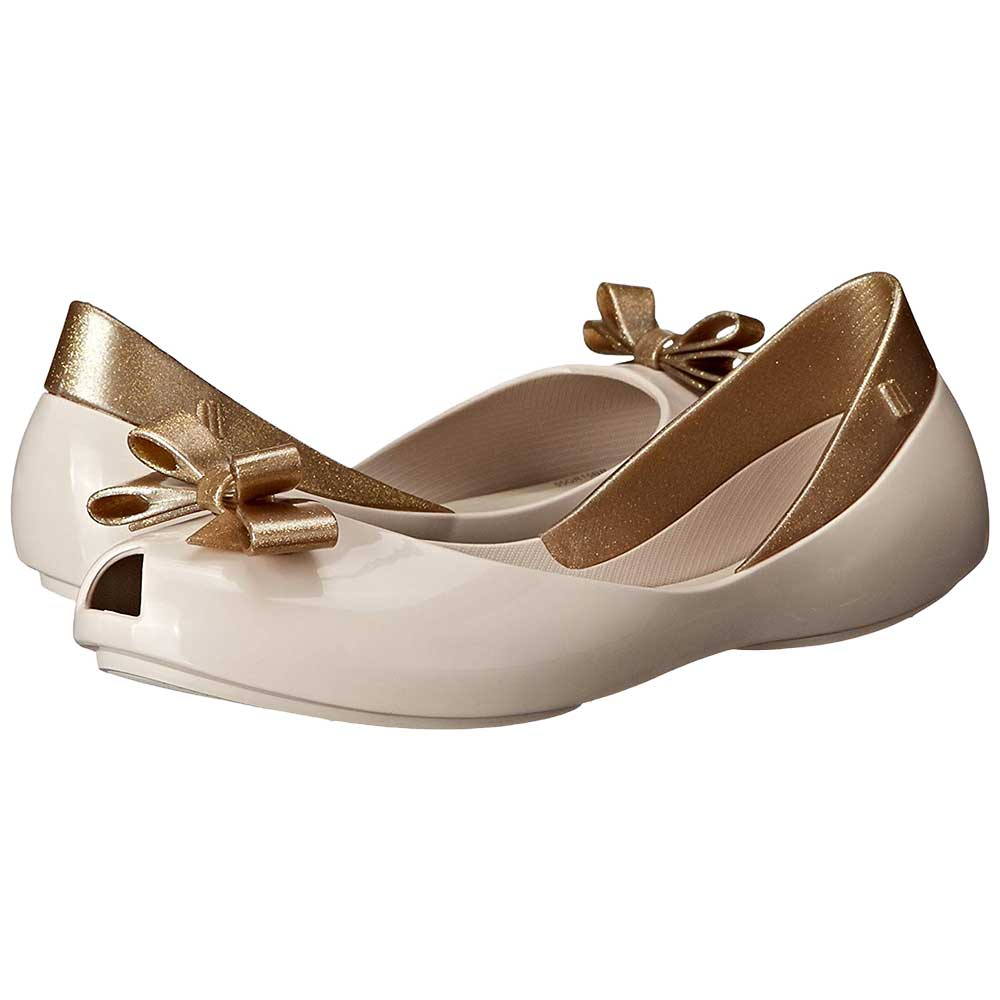 7a4be5f4a310 Mini Melissa Mel Queen INF Ballet Flat (Little Kid Big Kid)