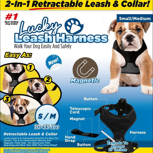 2 in 1 Magnetic Leash Collar