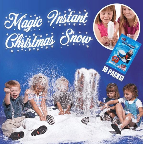 Magic Instant Christmas Snow (10PCS)