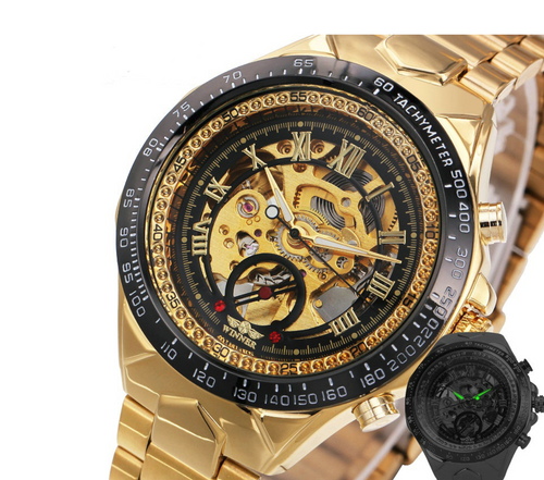 Automatic Skeleton Wristwatch