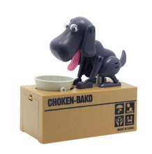 Grey Doggy Coin Bank