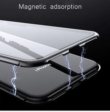 Magnetic Tempered Glass Phone Case