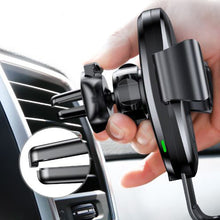 Qi Wireless Gravity Car Mount Charger