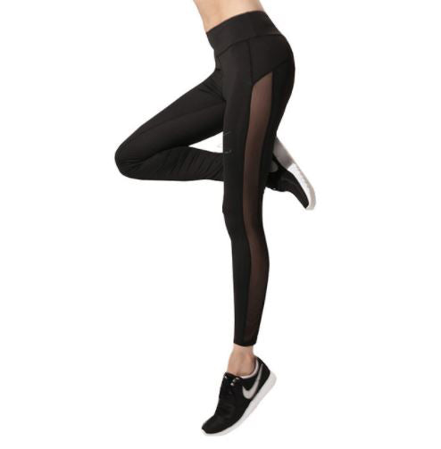 Side Panel Mesh Leggings