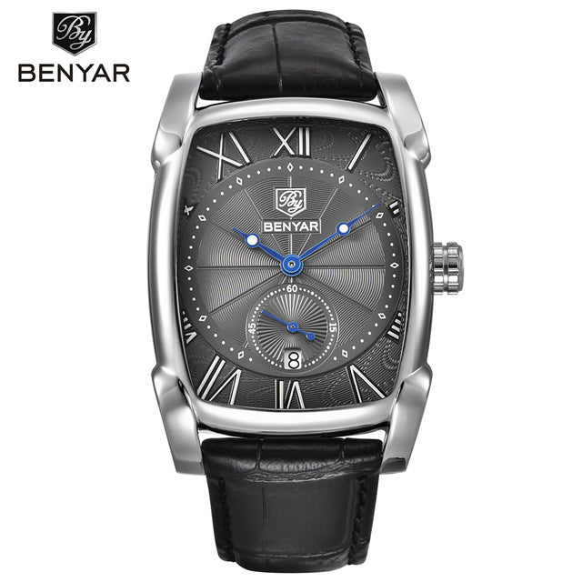 BENYAR Brand Square Men Watch