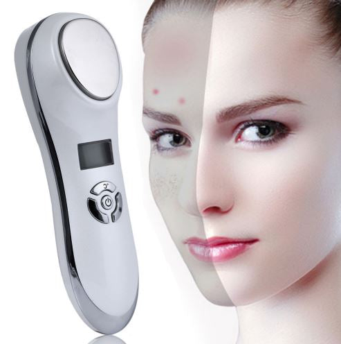 Ultrasonic Hot & Cold Facial Wand