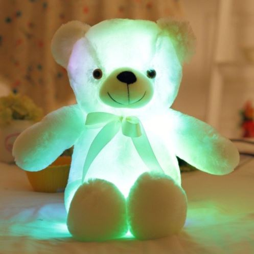 Snuggles the Glowing Teddy Bear