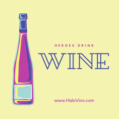 Hereos drink wine