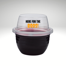 Halloween 2-Pack Shatterproof, Stackable Wine Glasses & Tote