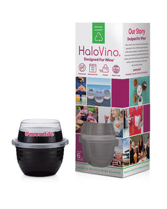 Mom Specialty Six-Pack HaloVino Wine Tumblers