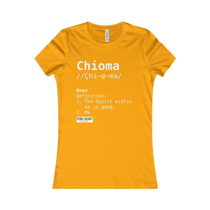 Chioma Definition Custom Tee