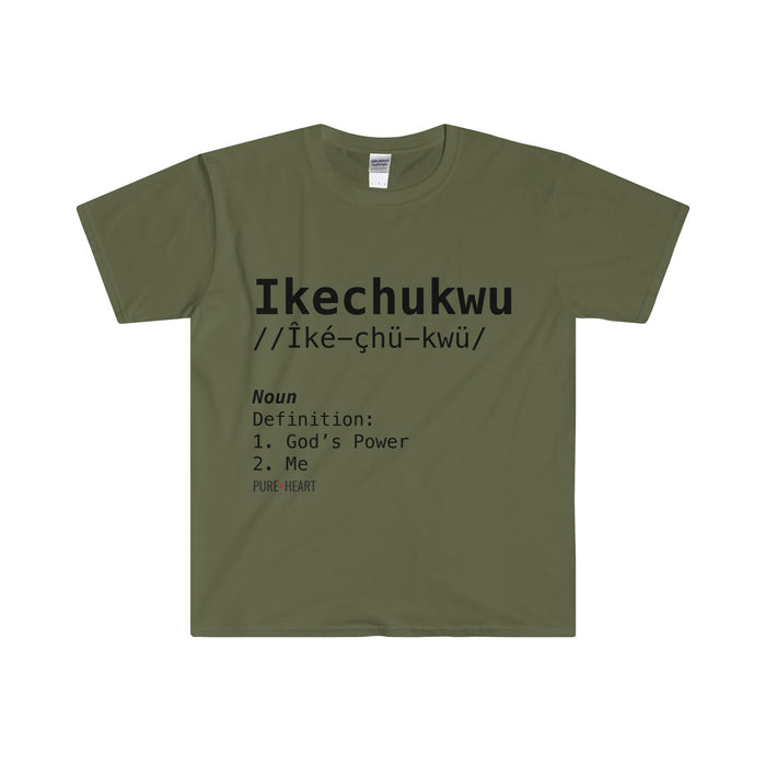 Ikechukwu Definition Men's Fitted Short Sleeve Tee