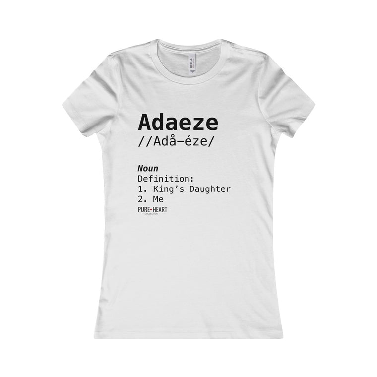 Adaeze Definition Custom Tee