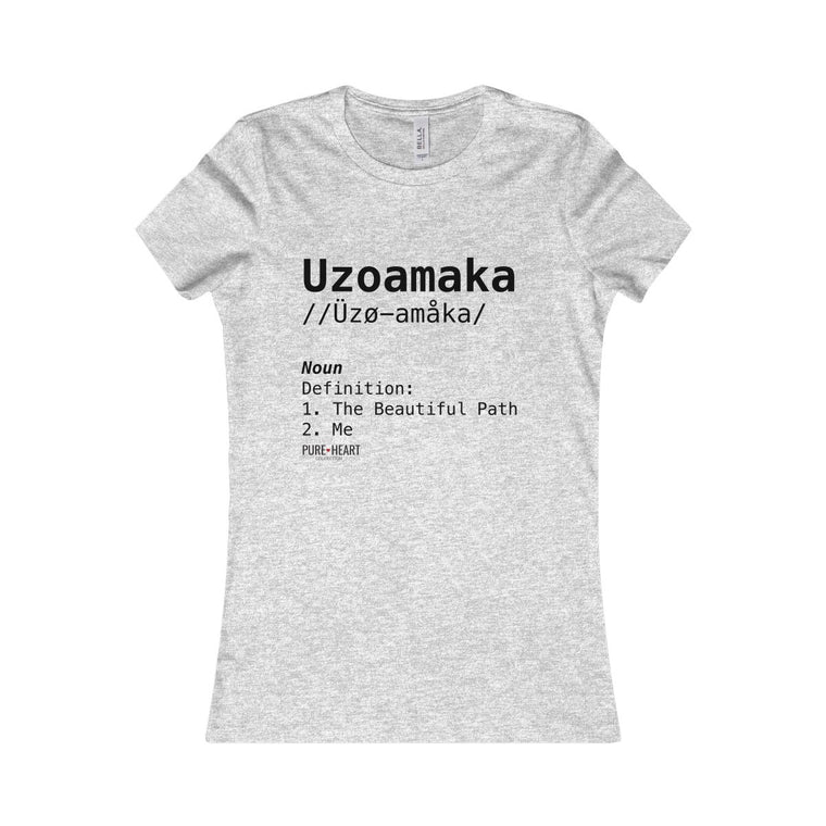 Uzoamaka Definition Tee