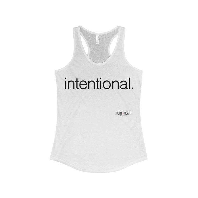 intentional Racerback Tank