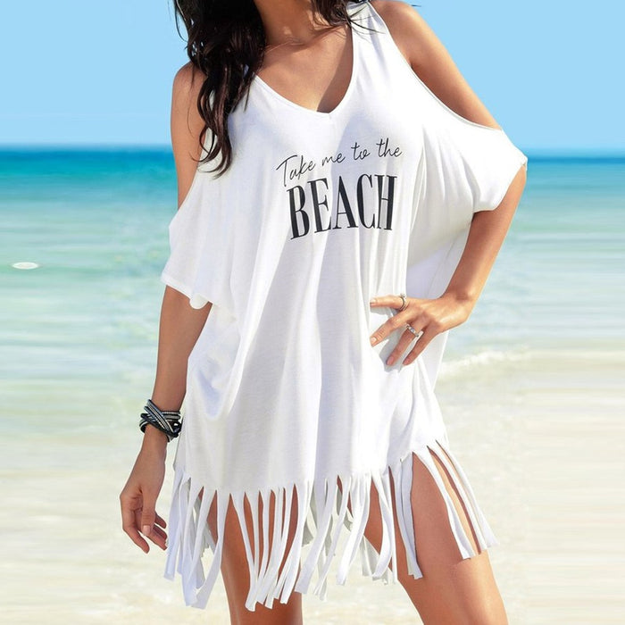 Beach fringe top