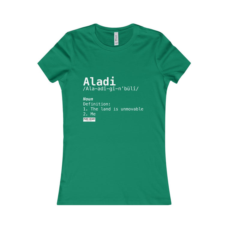 Aladi Definition Custom Tee